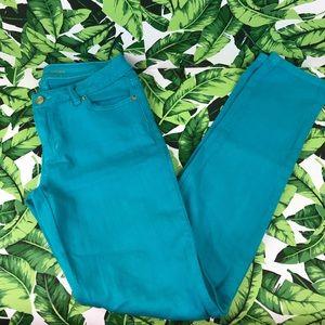 5 for $25 Michael Kors Blue Denim Skinny Jeans